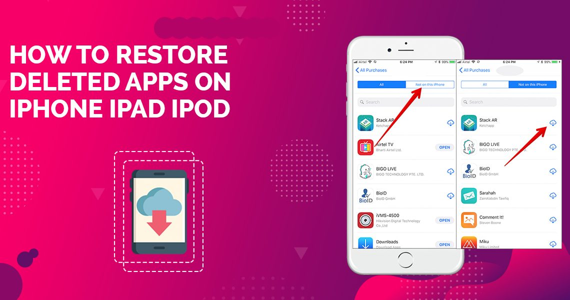 restore deleted apps