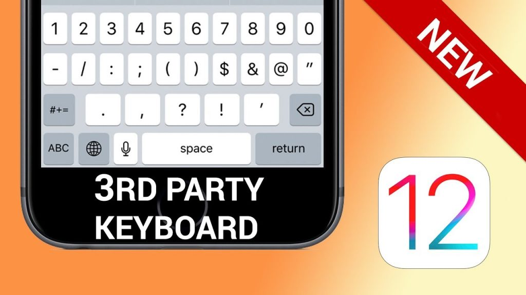 3rd party keyboard