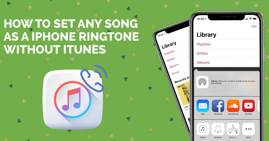 any ringtone on iphone