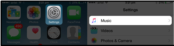 Turning off EQ from the music app