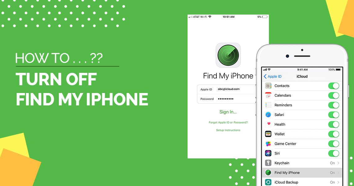 How to turn off find my iPhone - Top Mobile Tech
