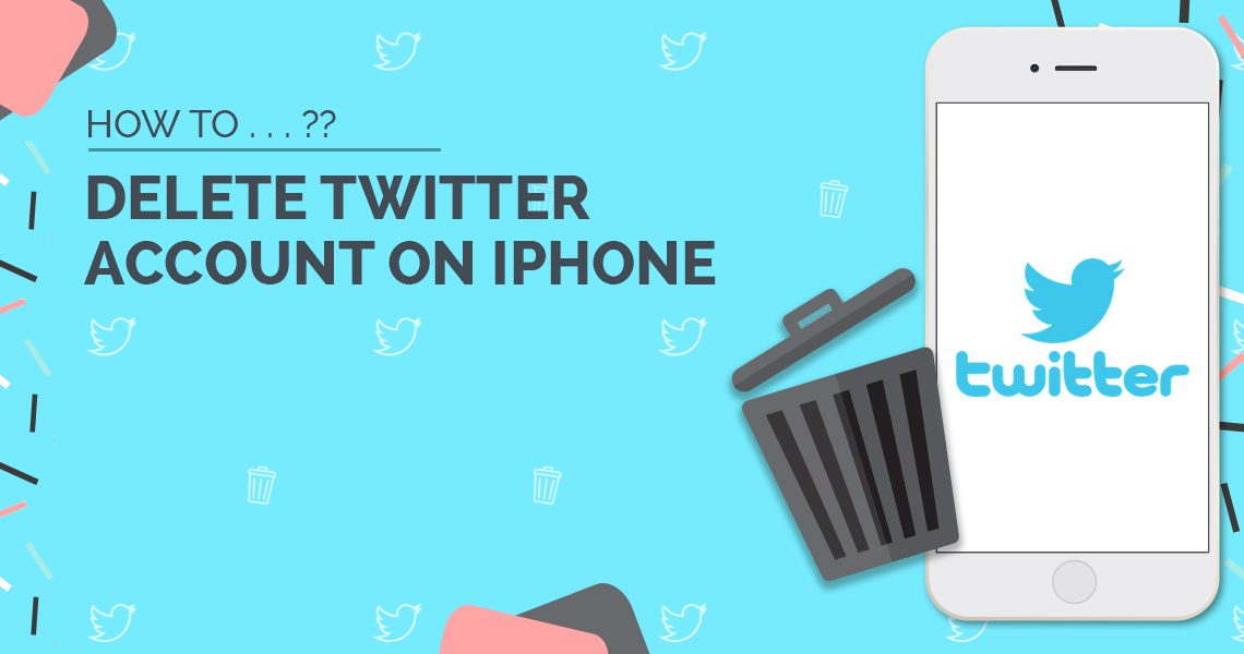 How to Delete Twitter Account on iPhone