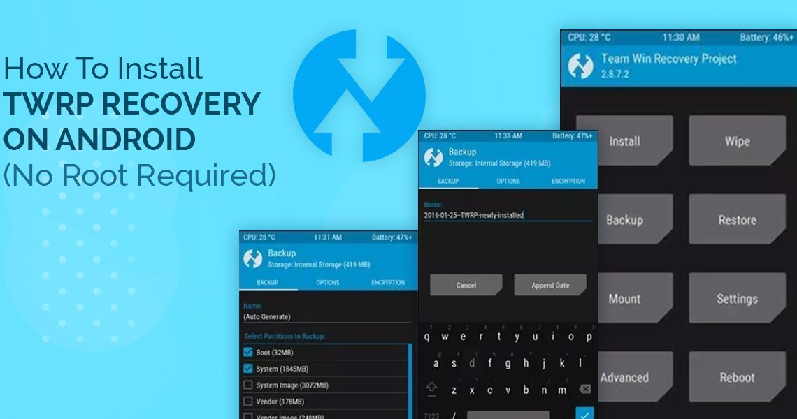 How To Install TWRP Recovery On Android