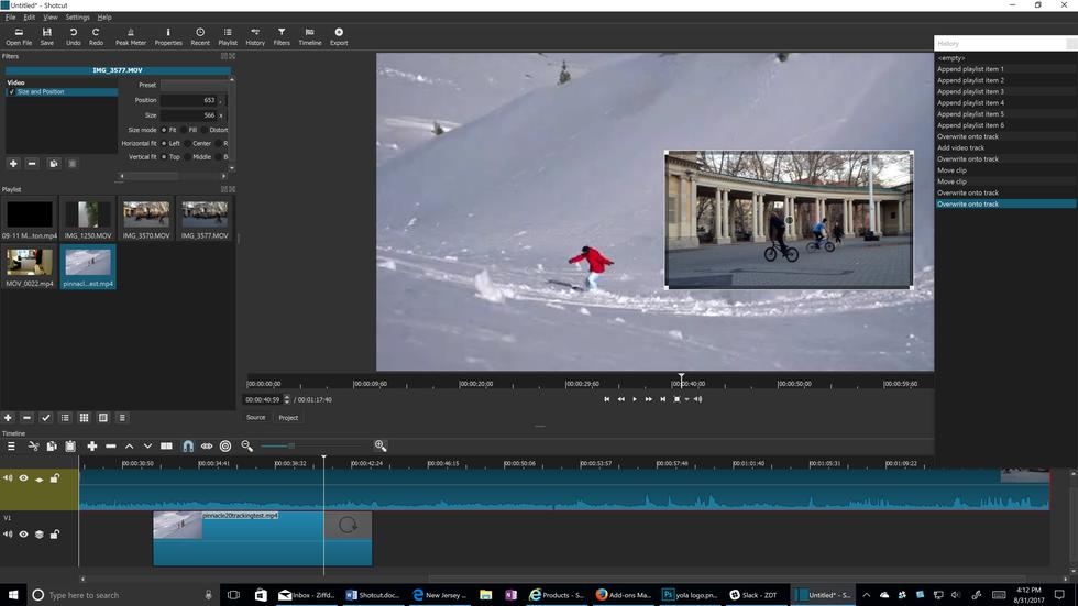 video editing on pc