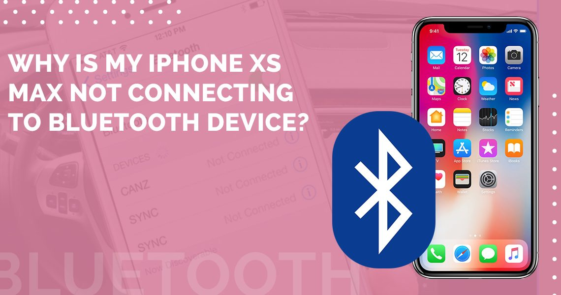 iPhone not connecting bluetooth device