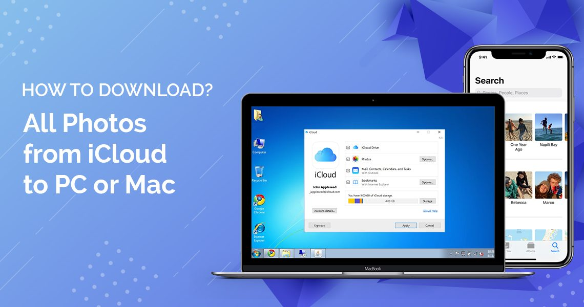 How to Download All Photos from iCloud to PC or Mac