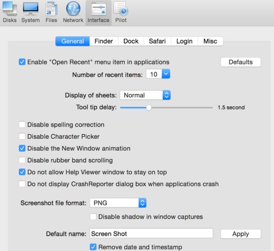 Cocktail tool for mac