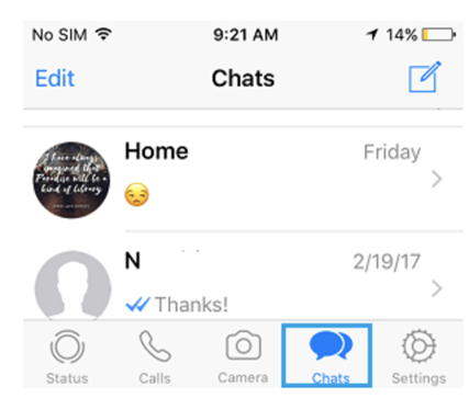 Transfer WhatsApp Photos From iPhone