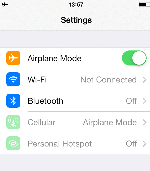 How To Send Receive Imessages In Airplane Mode