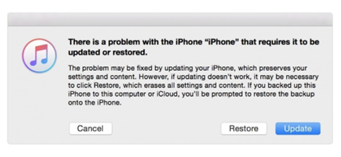 restore your iOS device