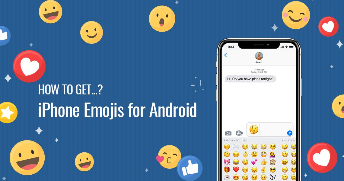 How to get iPhone Emojis