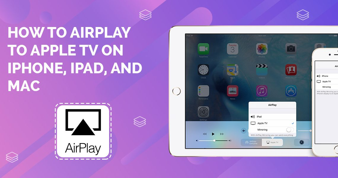 How to AirPlay to Apple Tv on iPhone, iPad, and Mac