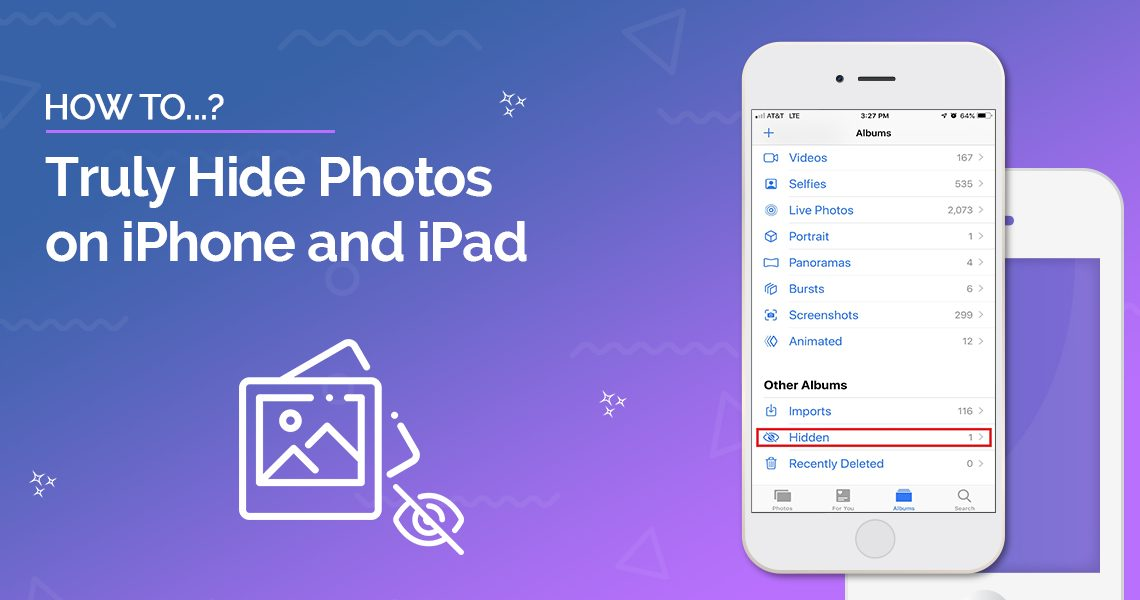 How to Truly Hide Photos on iPhone