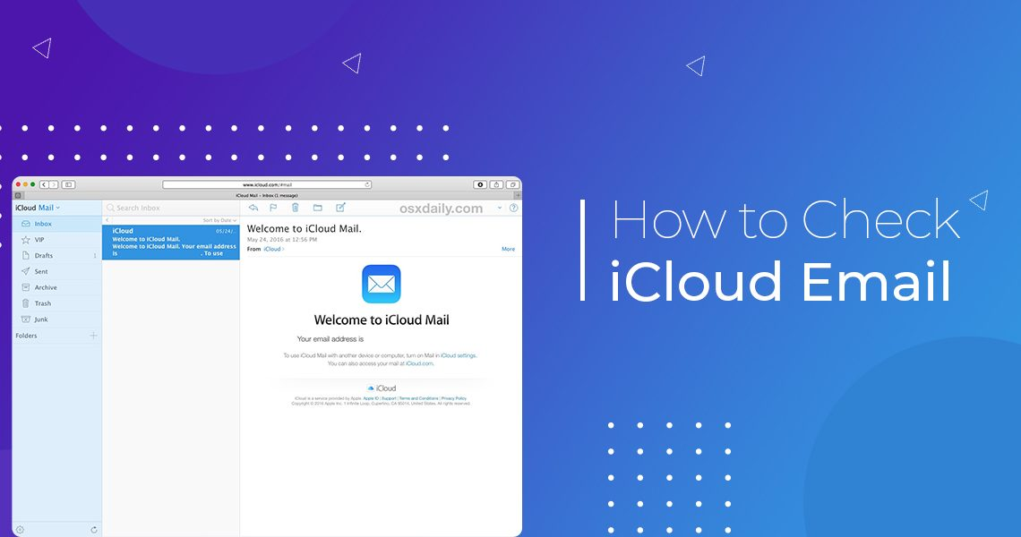 How to Check iCloud Email