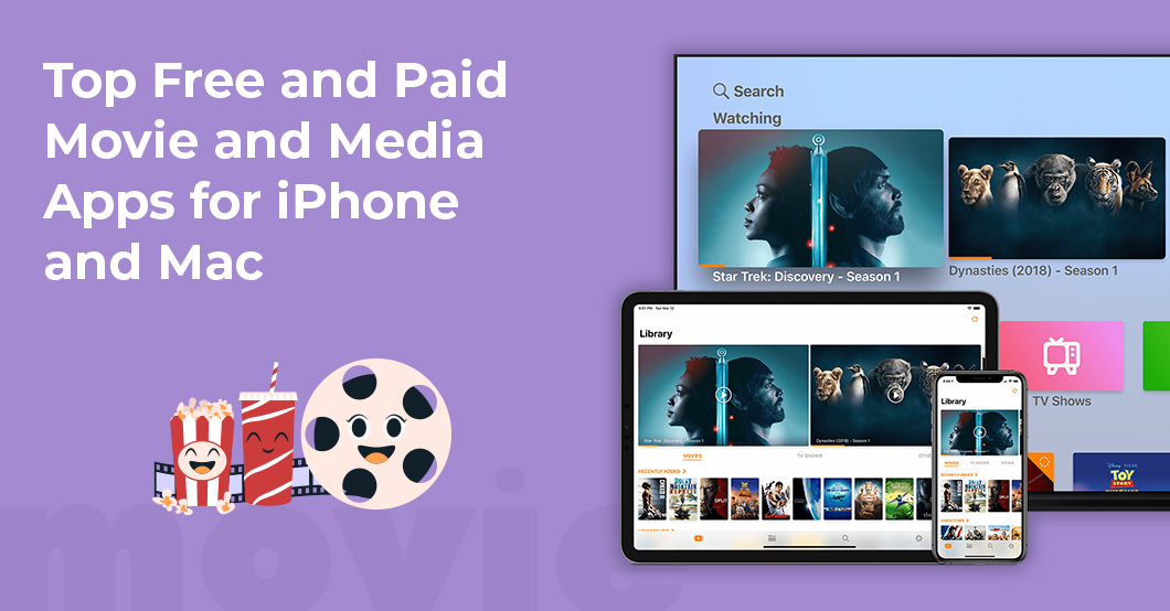 Free and Paid Movie and Media Apps for iPhone