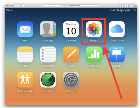 Apple ID in the iCloud