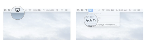 How to AirPlay Mirror mode from Mac