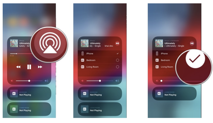 How to AirPlay audio from iOS devices including iPhone, iPad