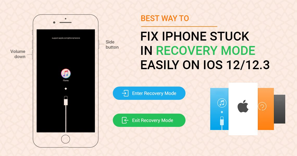 Recovery Mode Easily on iOS 12
