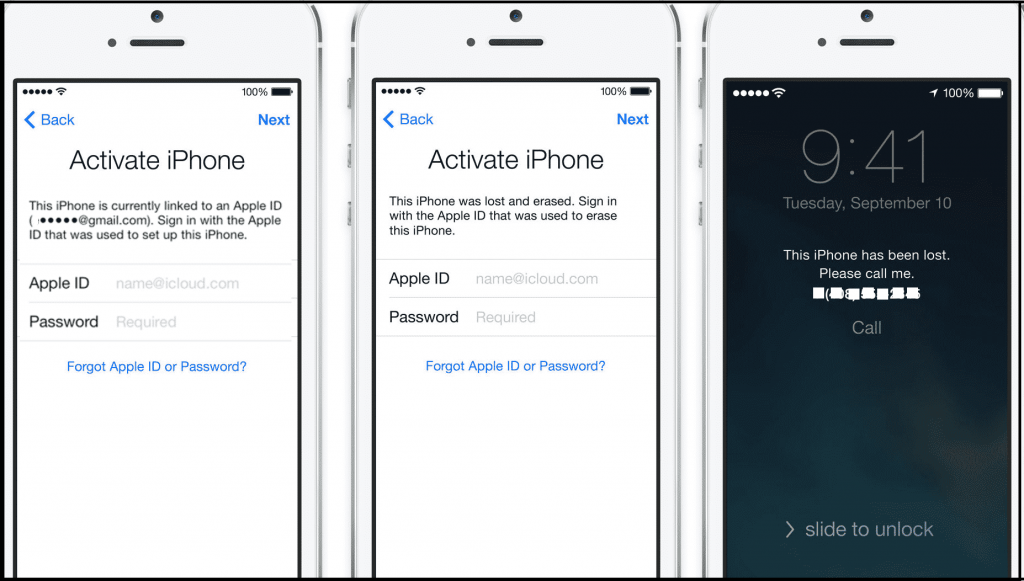 Remotely remove iCloud Activation Lock