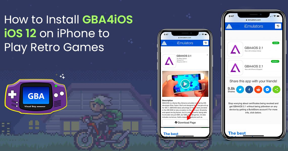 How to Install GBA4iOS iOS 12 on iPhone