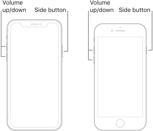 How to Power Off the iPhone X or later version using physical buttons