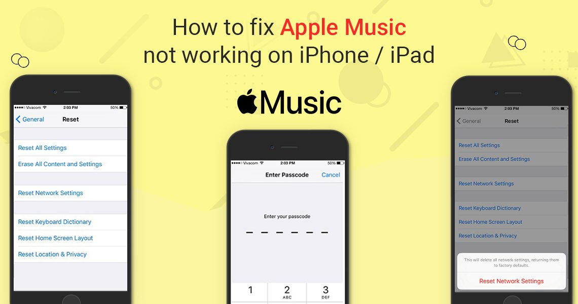 How to fix Apple Music not working on iPhone
