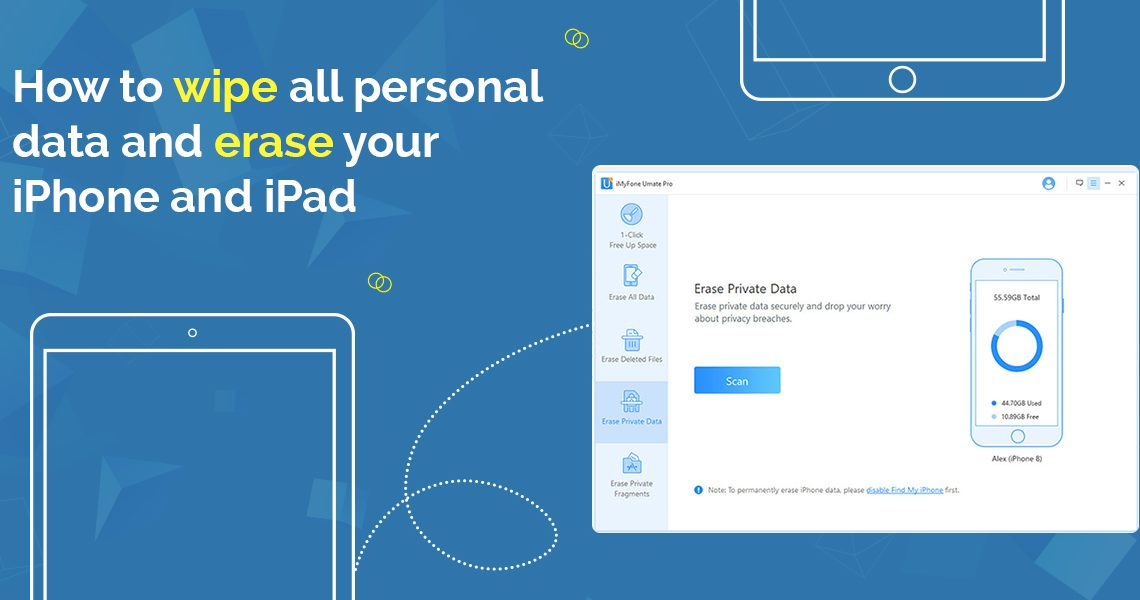 How to wipe all personal data and erase your iPhone