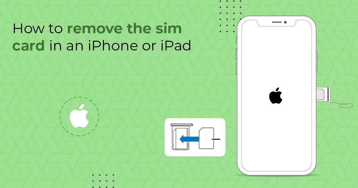 how to remove sim