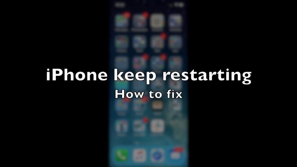 iPhone Keeps Restarting - How to Fix?