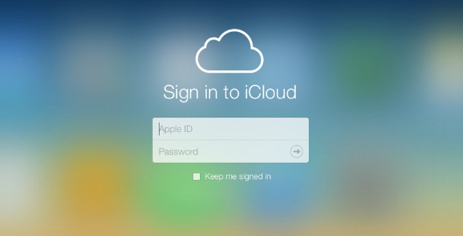 icloud with apple ID