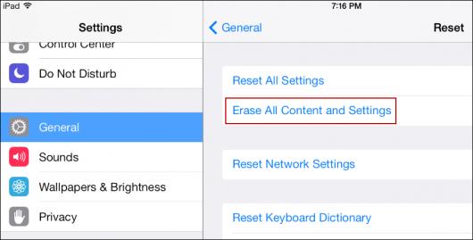 through iOS data eraser