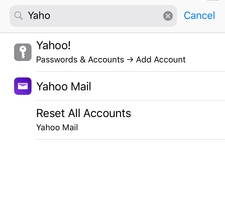 yahoo password