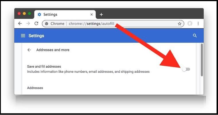 Delete Specific Chrome Autofill Suggestions