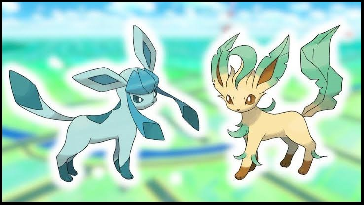 Get and use the Glacial Lure and Mossy Lure to get Glaceon and Leafeon