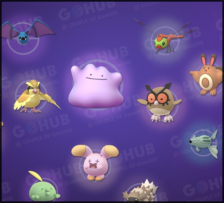 How do you know one of these Pokemon is a Ditto