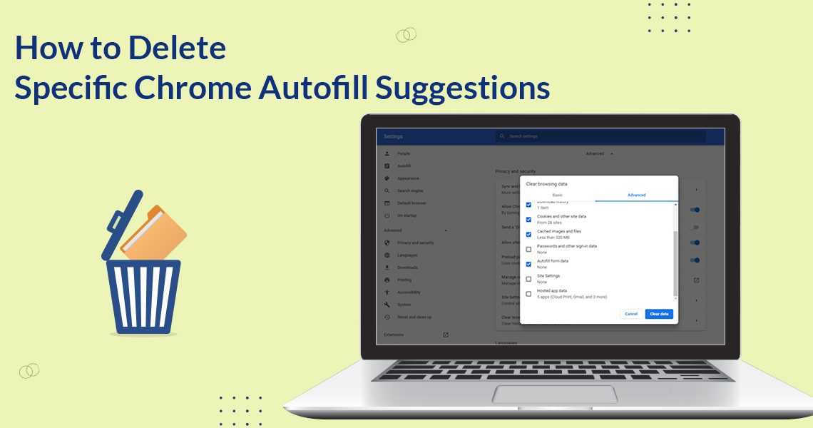 How to Delete Specific Chrome Autofill Suggestions