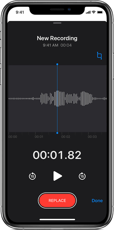 How to Record Voice on iPhone with Voice Memos