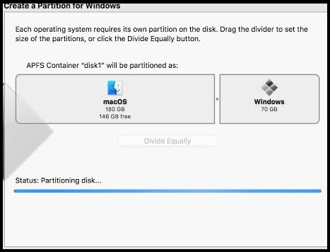 Install Boot Camp software on Windows 10 partition