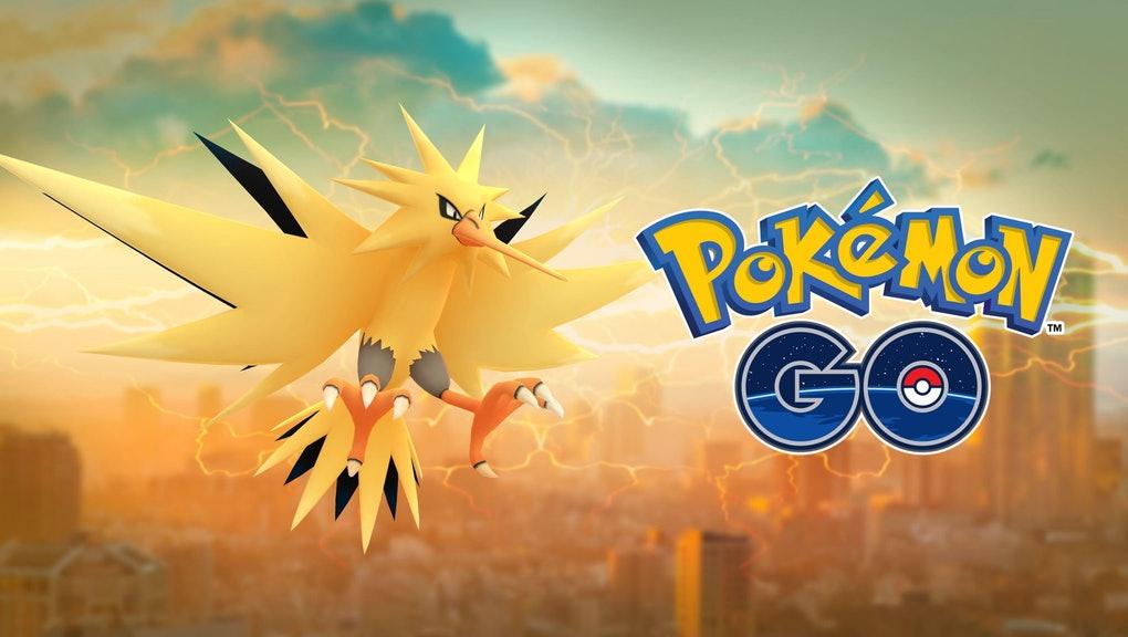 Pokemon Go moveset for Zapdos