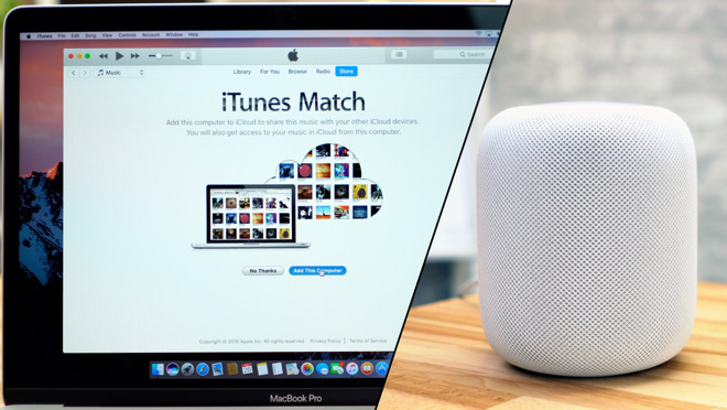 Streaming Music from iTunes Match