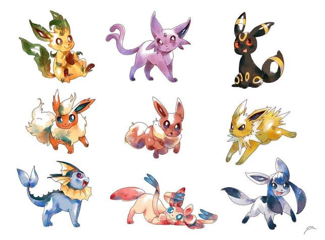 The best Eeveelution and Eevee Evolutions Ranked