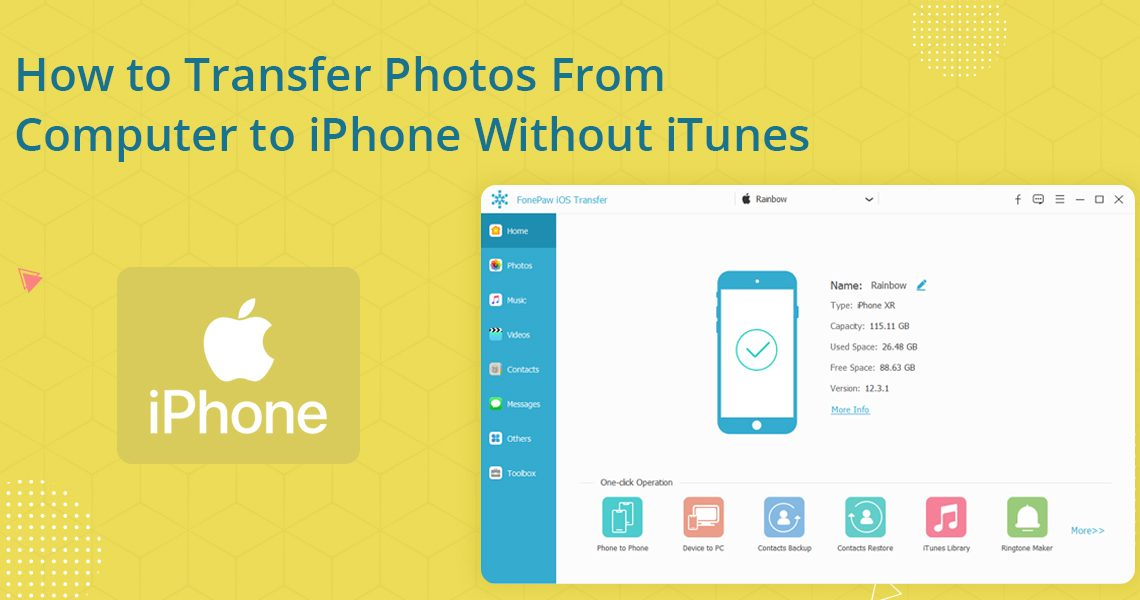 Transfer Photos From Computer to iPhone