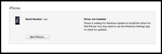 Update iPhone Drivers