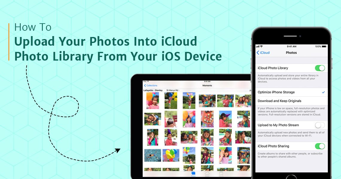Upload your photos into iCloud Photo Library