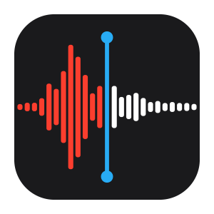 Voice Memos App in iPad