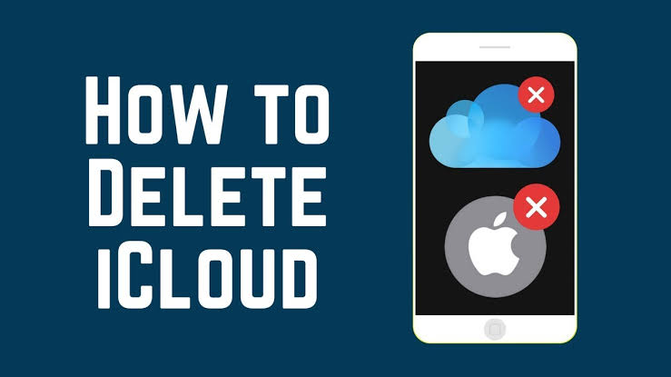 Ways to Delete an iCloud account on iPhone or iPad