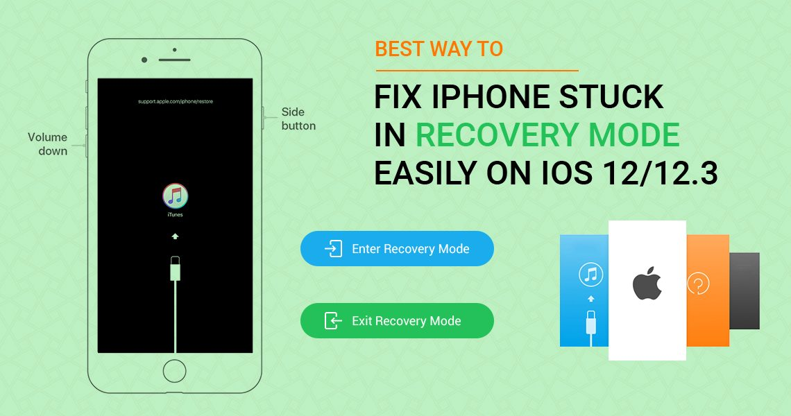 Ways to Fix iPhone Stuck in iOS
