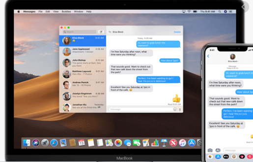 imessages on PC