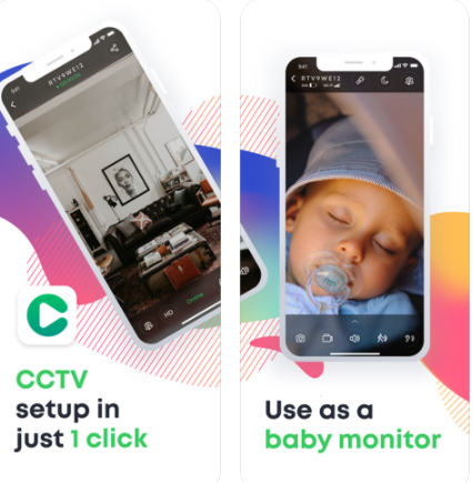 Cam&cam-CCTV & baby monitor